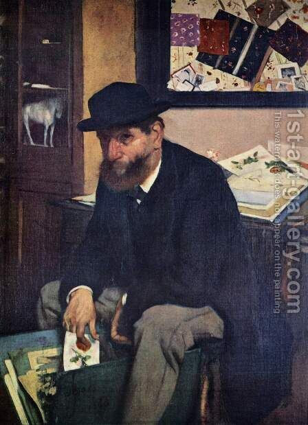 The Amateur, 1866 by Edgar Degas - Reproduction Oil Painting