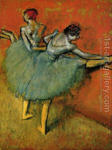 Dancers at The Bar, 1888 by Edgar Degas - Reproduction Oil Painting