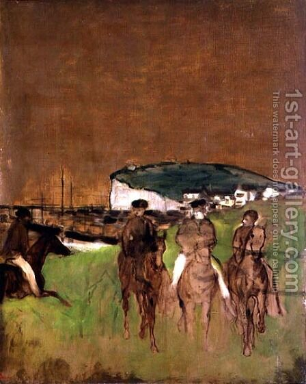 Morning Ride, c.1866 by Edgar Degas - Reproduction Oil Painting
