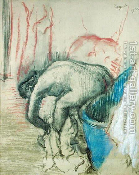 After the Bath, 1903 by Edgar Degas - Reproduction Oil Painting