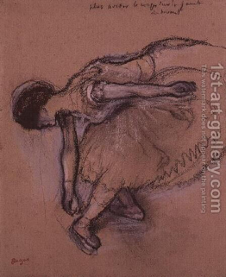 Dancer 2 by Edgar Degas - Reproduction Oil Painting