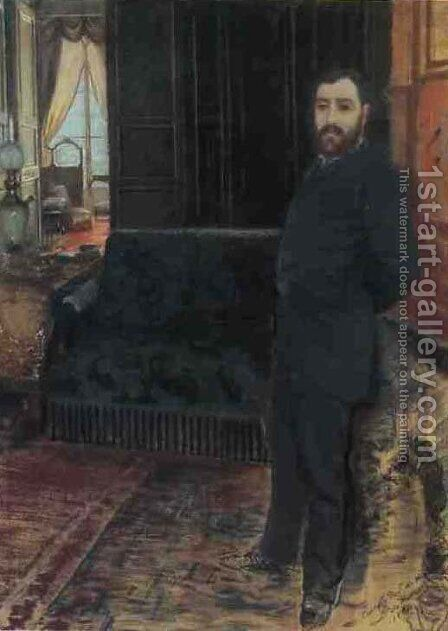 Self-portrait by Giuseppe de Nittis - Reproduction Oil Painting