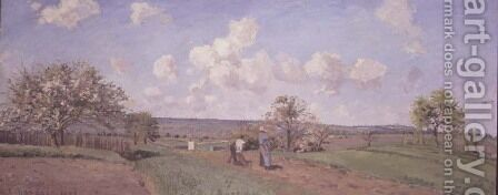 Spring, 1872 by Camille Pissarro - Reproduction Oil Painting