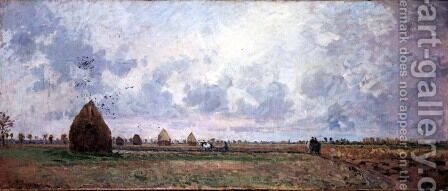 Autumn, 1872 by Camille Pissarro - Reproduction Oil Painting