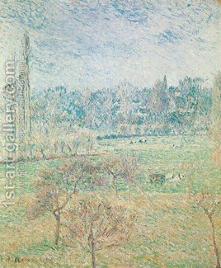 Autumn Morning, 1892 by Camille Pissarro - Reproduction Oil Painting
