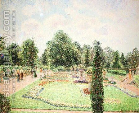 Kew Gardens - Path to the Great Glasshouse, 1892 by Camille Pissarro - Reproduction Oil Painting