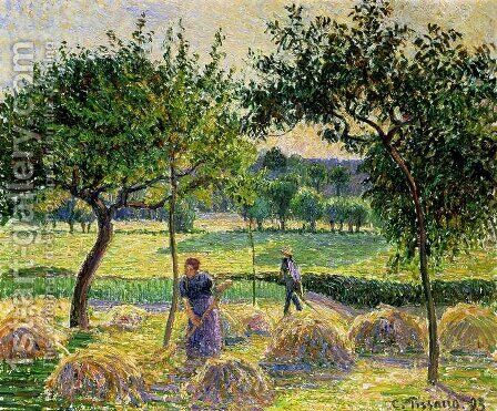 Bountiful Harvest, 1893 by Camille Pissarro - Reproduction Oil Painting