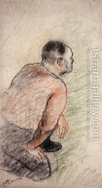Julien Tanguy by Camille Pissarro - Reproduction Oil Painting