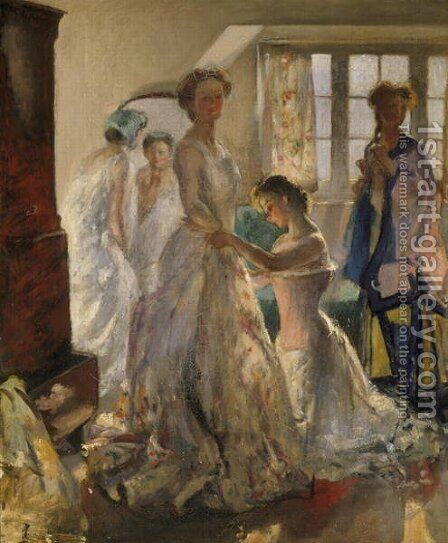 Matinee Rehersal, c.1900 by Henry Tonks - Reproduction Oil Painting