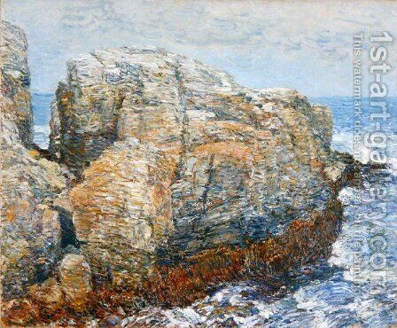 Sylph's Rock, 1907 by Childe Hassam - Reproduction Oil Painting