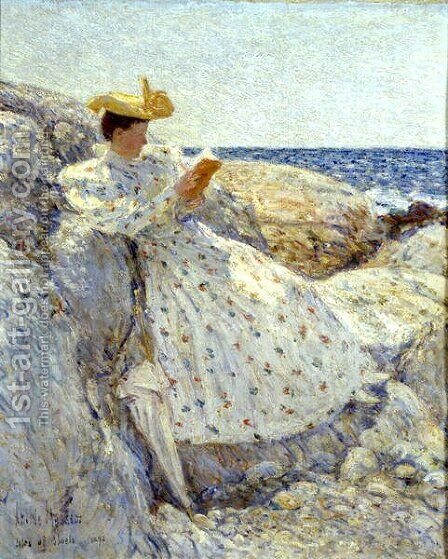 Isle of Shoals by Childe Hassam - Reproduction Oil Painting