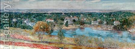 Andover, 1930 by Childe Hassam - Reproduction Oil Painting