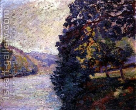 Sunrise at Crozant, Brittany, c.1916 by Armand Guillaumin - Reproduction Oil Painting