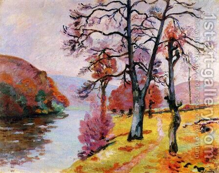 Crozant, Brittany, 1912 by Armand Guillaumin - Reproduction Oil Painting