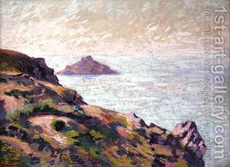 Coast of the Val Andre, c.1907 by Armand Guillaumin - Reproduction Oil Painting