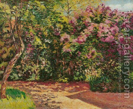 Lilac, the Artist's Garden by Armand Guillaumin - Reproduction Oil Painting