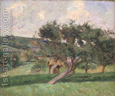 Landscape at Damiette, c.1890 by Armand Guillaumin - Reproduction Oil Painting