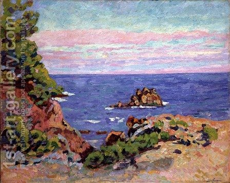 The Baumettes, 1910 by Armand Guillaumin - Reproduction Oil Painting
