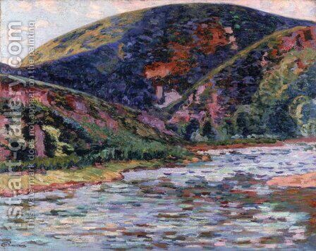 The Creuse in Summertime, 1895 by Armand Guillaumin - Reproduction Oil Painting