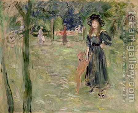 Bois de Boulogne 1893 by Berthe Morisot - Reproduction Oil Painting