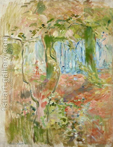 Undergrowth in Autumn 1894 by Berthe Morisot - Reproduction Oil Painting