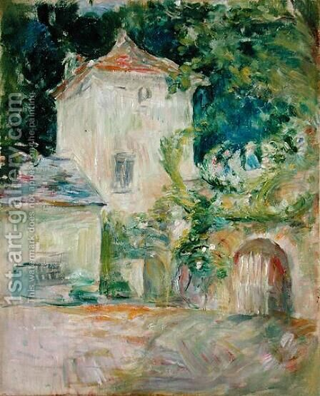 Pigeon Loft at the Chateau du Mesnil  Juziers  1892 by Berthe Morisot - Reproduction Oil Painting