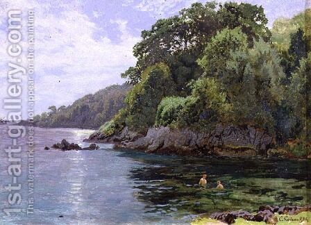 Cawsand Bay by Charles Collins - Reproduction Oil Painting