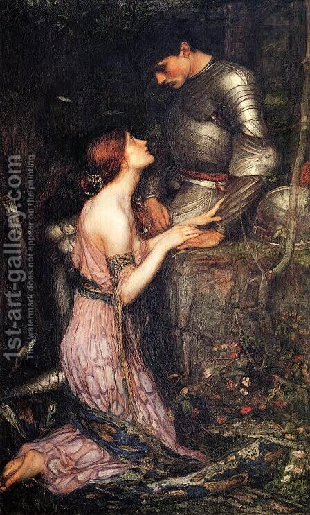 Lamia  1905 by Waterhouse - Reproduction Oil Painting