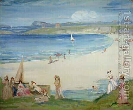 Silver Sands by Charles Edward Conder - Reproduction Oil Painting