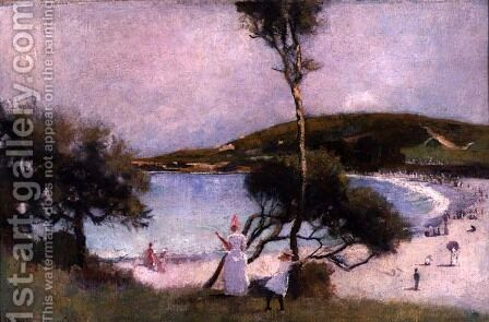 Coogee Bay, 1888 by Charles Edward Conder - Reproduction Oil Painting
