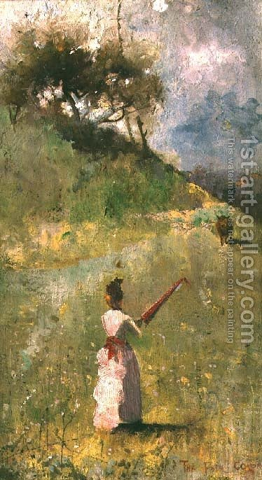 The Fatal Colour by Charles Edward Conder - Reproduction Oil Painting