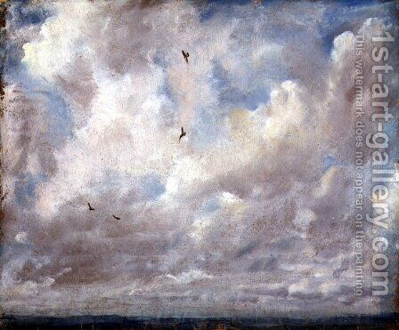 Cloud Study, 1821 by John Constable - Reproduction Oil Painting