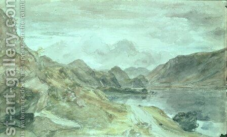 The Lake District, c.1830 by John Constable - Reproduction Oil Painting