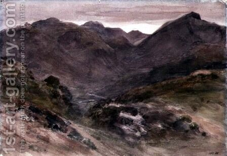 A View of Borrowdale by John Constable - Reproduction Oil Painting