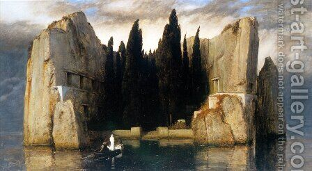 The Isle of the Dead, 1883 by Arnold Böcklin - Reproduction Oil Painting