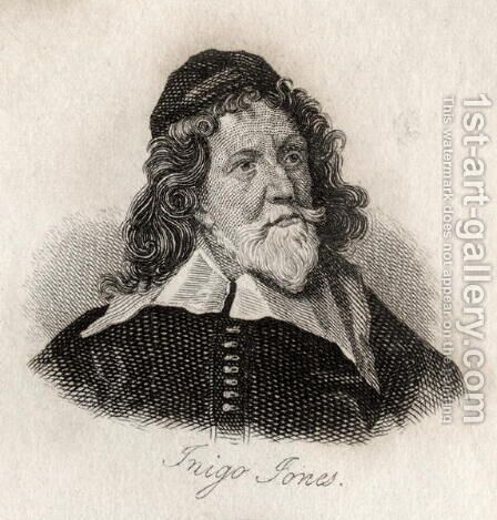 Inigo Jones by J.W. Cook - Reproduction Oil Painting