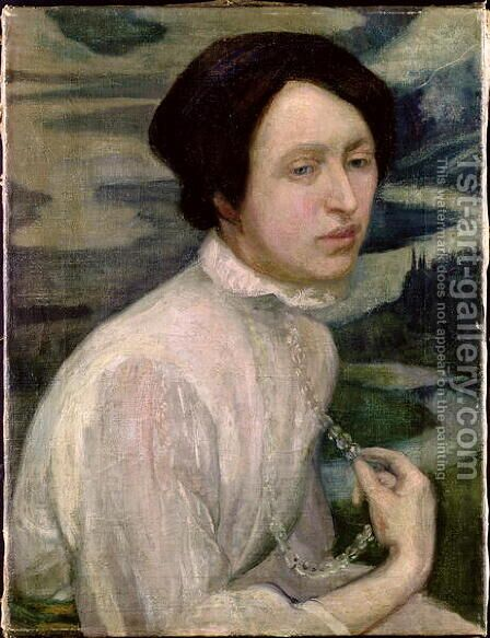 Portrait of Angelina Beloff  1909 by Diego Rivera - Reproduction Oil Painting