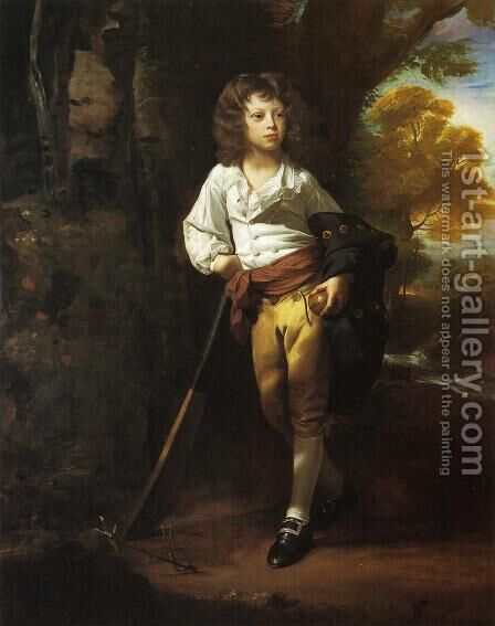 Richard Heber, 1782 by John Singleton Copley - Reproduction Oil Painting
