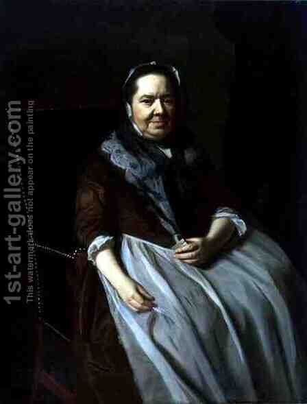 Portrait of Mrs Paul Richard, nee Elizabeth Garland, 1771 by John Singleton Copley - Reproduction Oil Painting