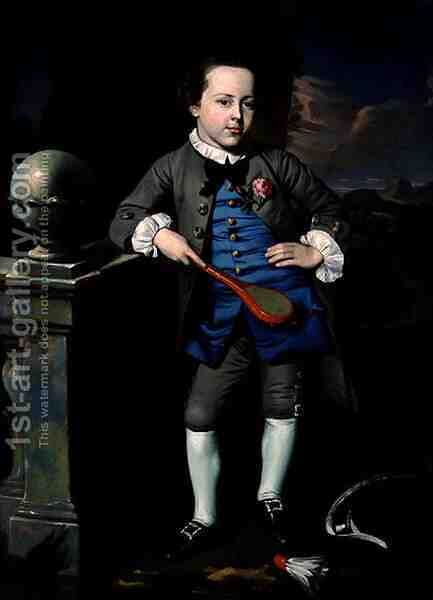 Portrait of a Boy, c.1758-60 by John Singleton Copley - Reproduction Oil Painting