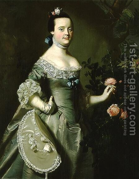 Hannah Loring, 1763 by John Singleton Copley - Reproduction Oil Painting
