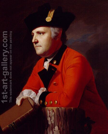 Colonel John Montresor (1736-99) c.1771 by John Singleton Copley - Reproduction Oil Painting