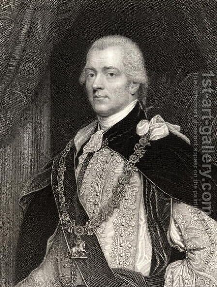 George John Spencer, 2nd Earl Spencer by John Singleton Copley - Reproduction Oil Painting