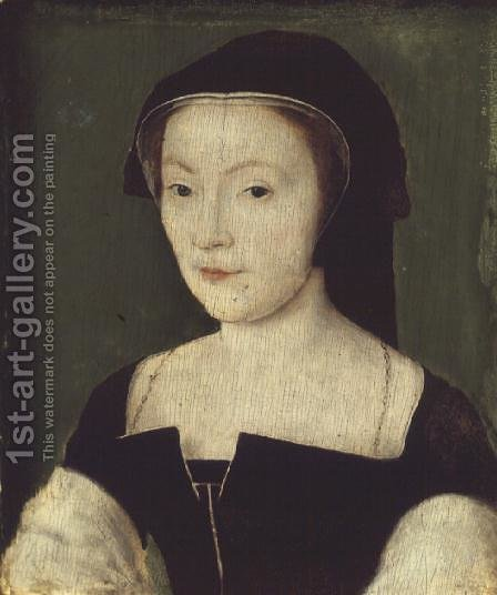 Mary of Guise (1515-60) by Corneille De Lyon - Reproduction Oil Painting