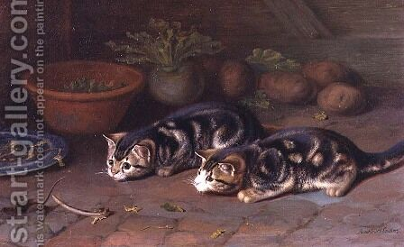 Too Late by Horatio Henry Couldery - Reproduction Oil Painting