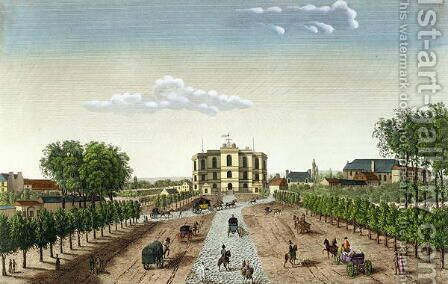 The Royal Observatory, c.1815-20 by Henri  (after) Courvoisier-Voisin - Reproduction Oil Painting