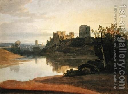 Pembroke Castle by David Cox - Reproduction Oil Painting