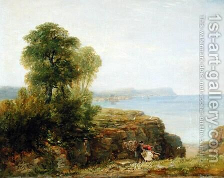 Cardigan Bay, 1846 by David Cox - Reproduction Oil Painting
