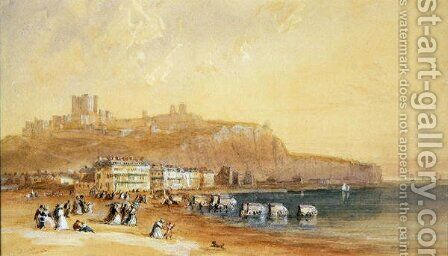 Dover  1832 by David Cox - Reproduction Oil Painting