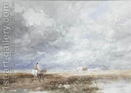 Going to the Hayfield, c.1855 by David Cox - Reproduction Oil Painting